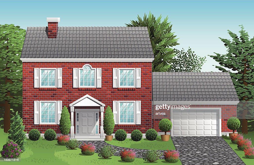 House : stock illustration