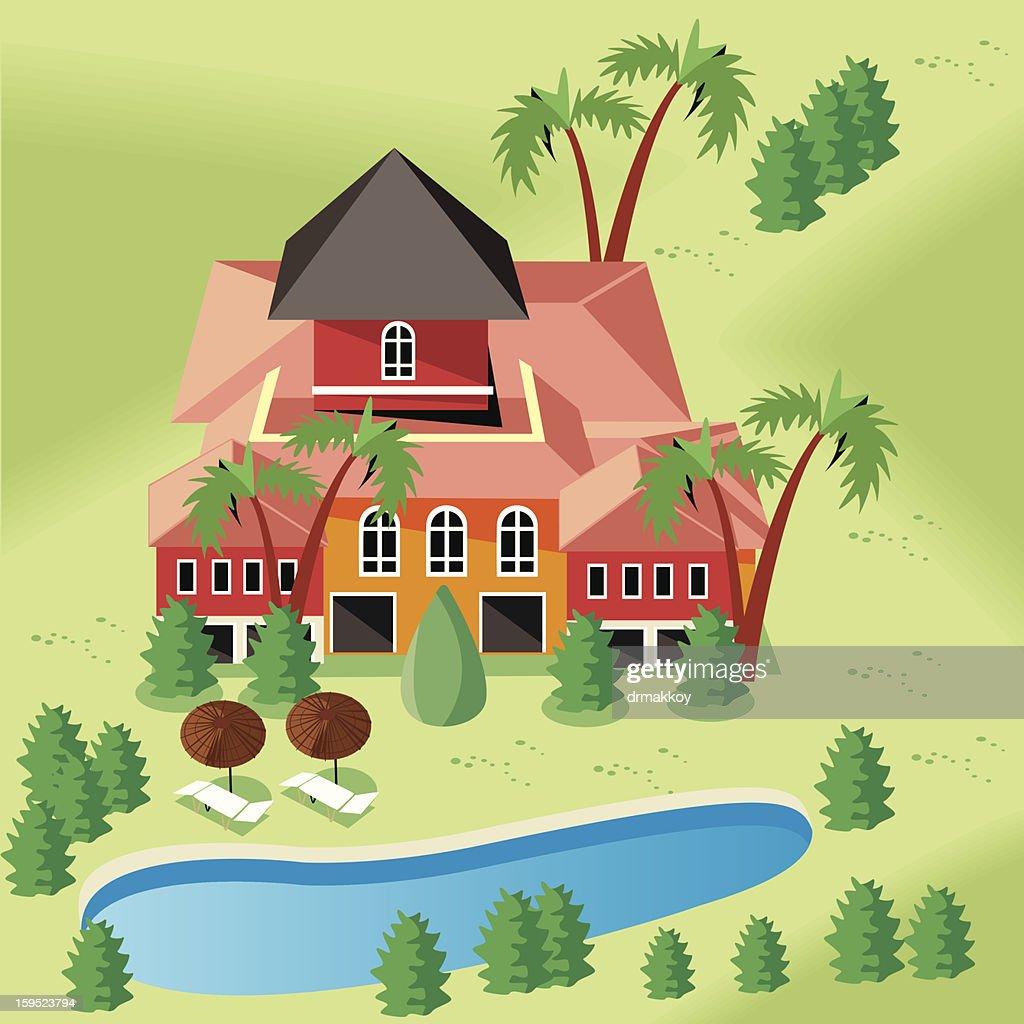 House : Arte vectorial