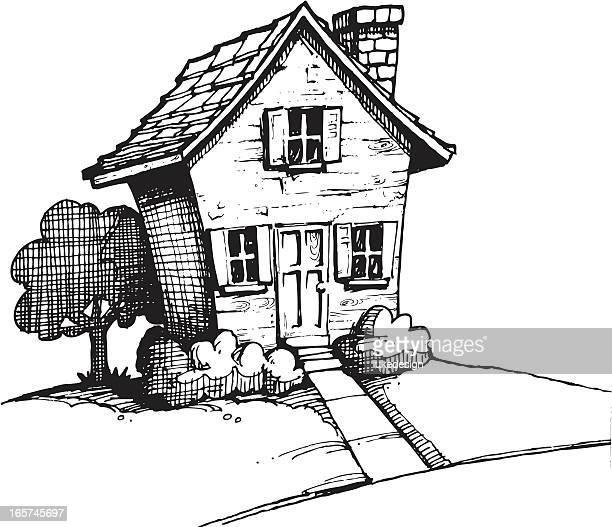 illustrations et dessins anim s de maison de campagne. Black Bedroom Furniture Sets. Home Design Ideas