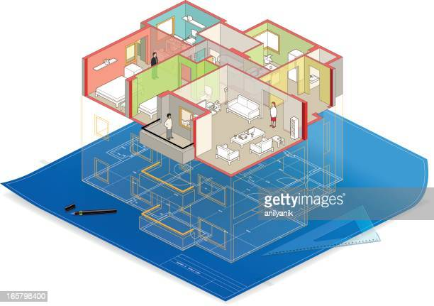 house - conversion sport stock illustrations