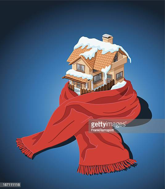House with Scarf