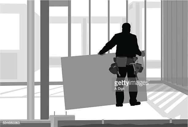 houseframing - tool belt stock illustrations, clip art, cartoons, & icons