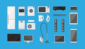 Household Appliances and Electronic Devices set