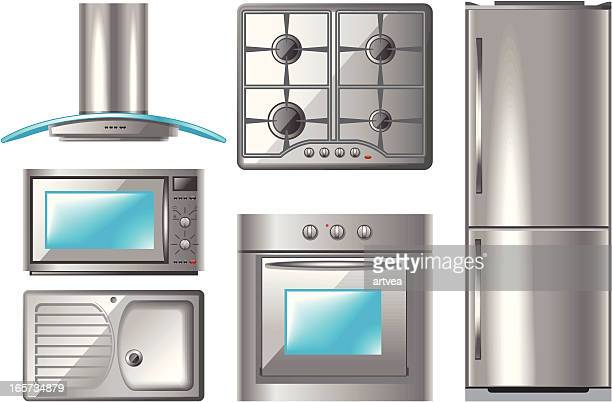 household appliances series 2 - exhaust fan stock illustrations, clip art, cartoons, & icons