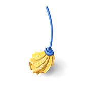 Household cleaning utensil. Mop