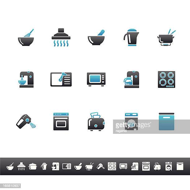 Household Icons   Blue Grey