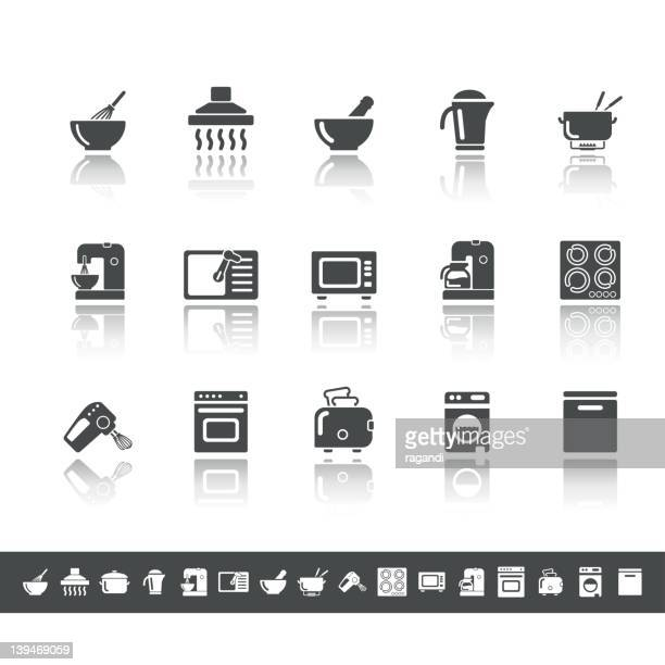 Household Icons   Simple Grey