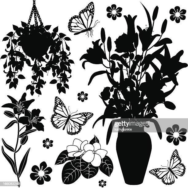 houseplants design-Elemente