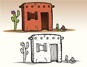 Houses - Adobe Hut