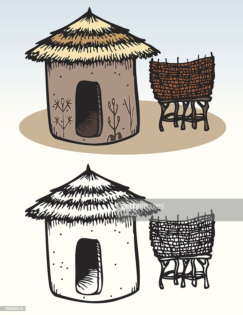 Houses - African Hut