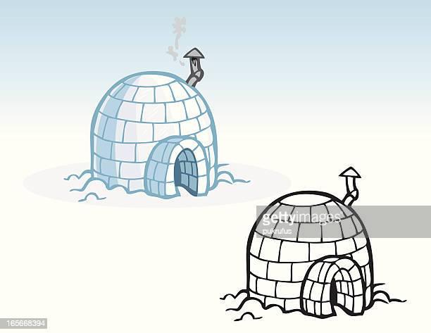 illustrations, cliparts, dessins animés et icônes de maisons-igloo - igloo