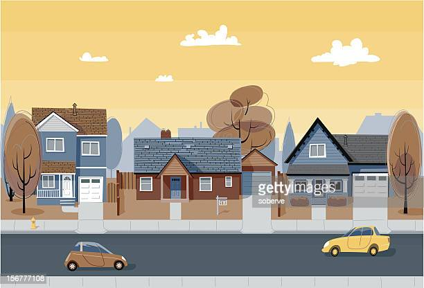 houses - bungalow stock illustrations, clip art, cartoons, & icons