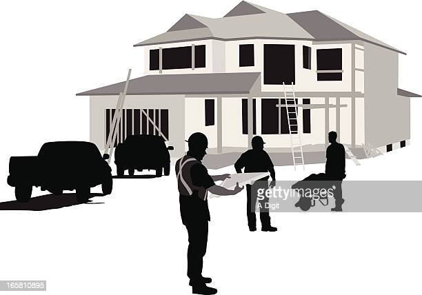 Housing Works Vector Silhouette
