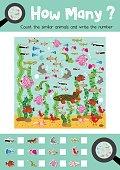 How many freshwater animal
