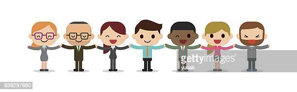 hplding hands - mitarbeiterengagement stock-grafiken, -clipart, -cartoons und -symbole