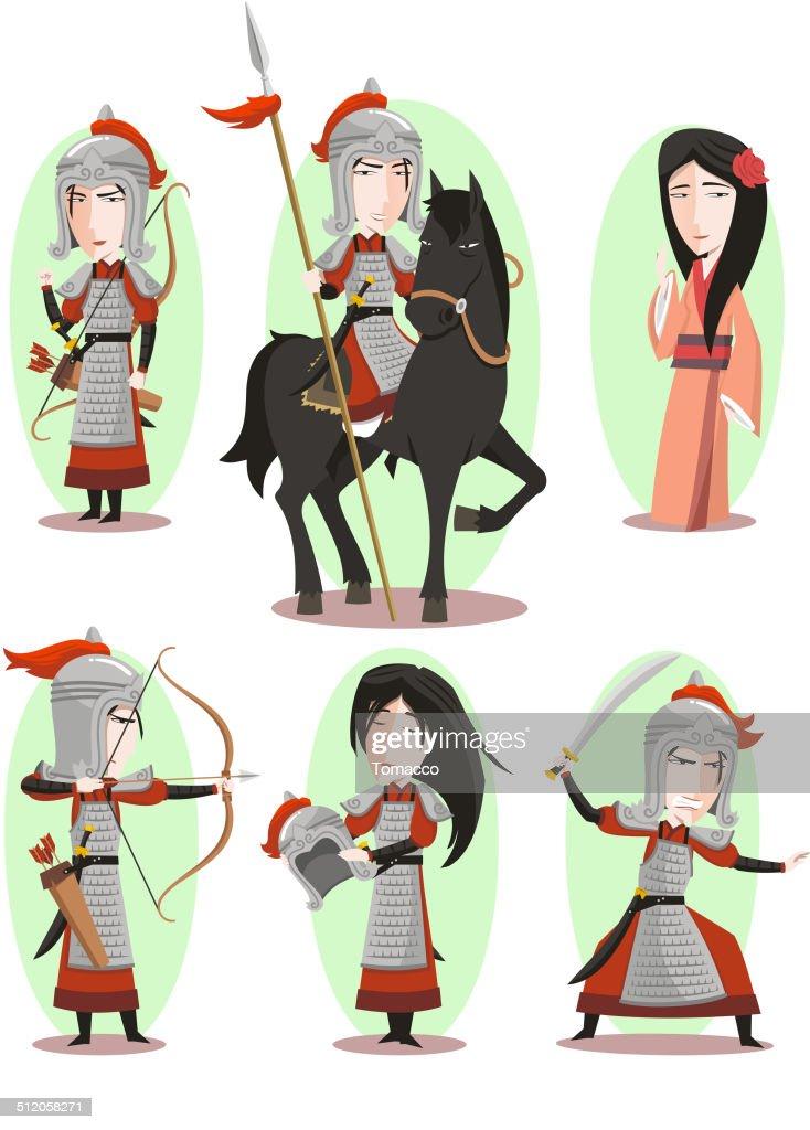 Hua Mulan Chinese Traditional Culture
