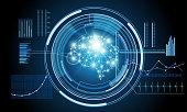 Hud interface ui future virtual artificial intelligence