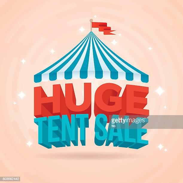 Huge Tent Sale