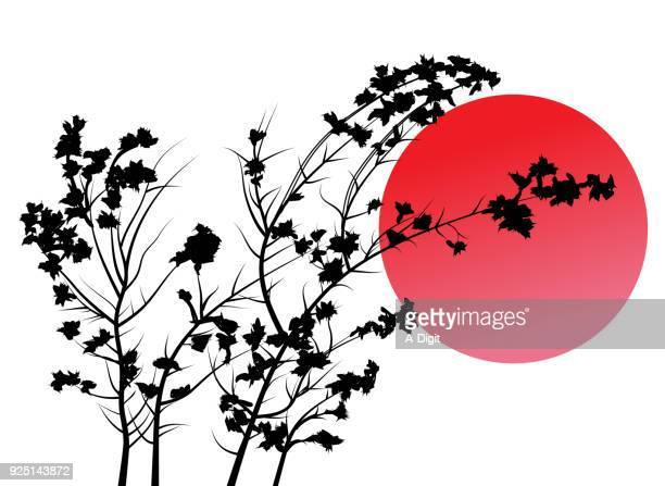 hugging the sun - flowers white background stock illustrations, clip art, cartoons, & icons