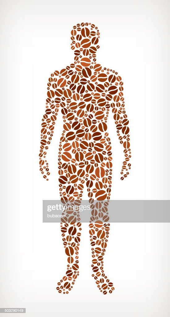 Human Anatomy Royalty Free Coffee Bean Pattern Vector Art | Getty Images