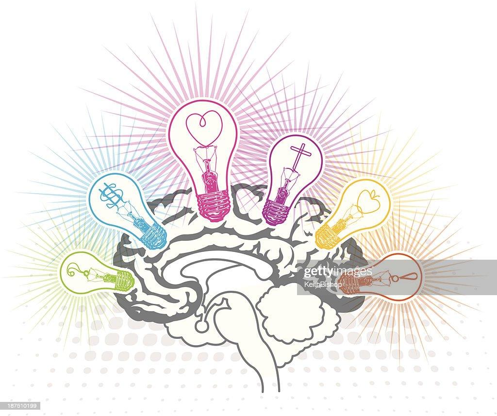 Human Brain - Thinking Concept