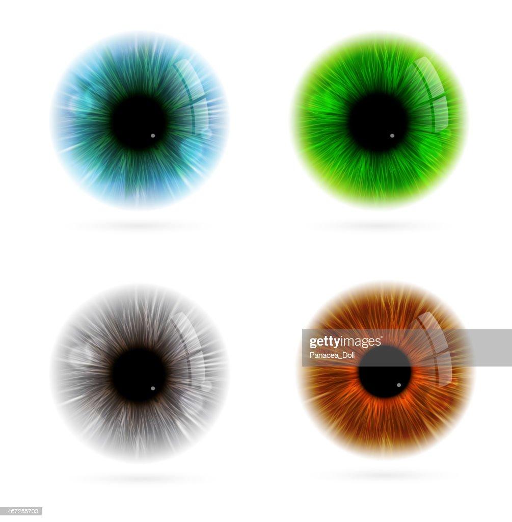 Human eye color
