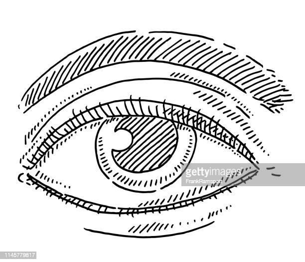 Zeichnung von Human Eye Symbol