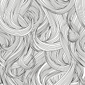 human hair background
