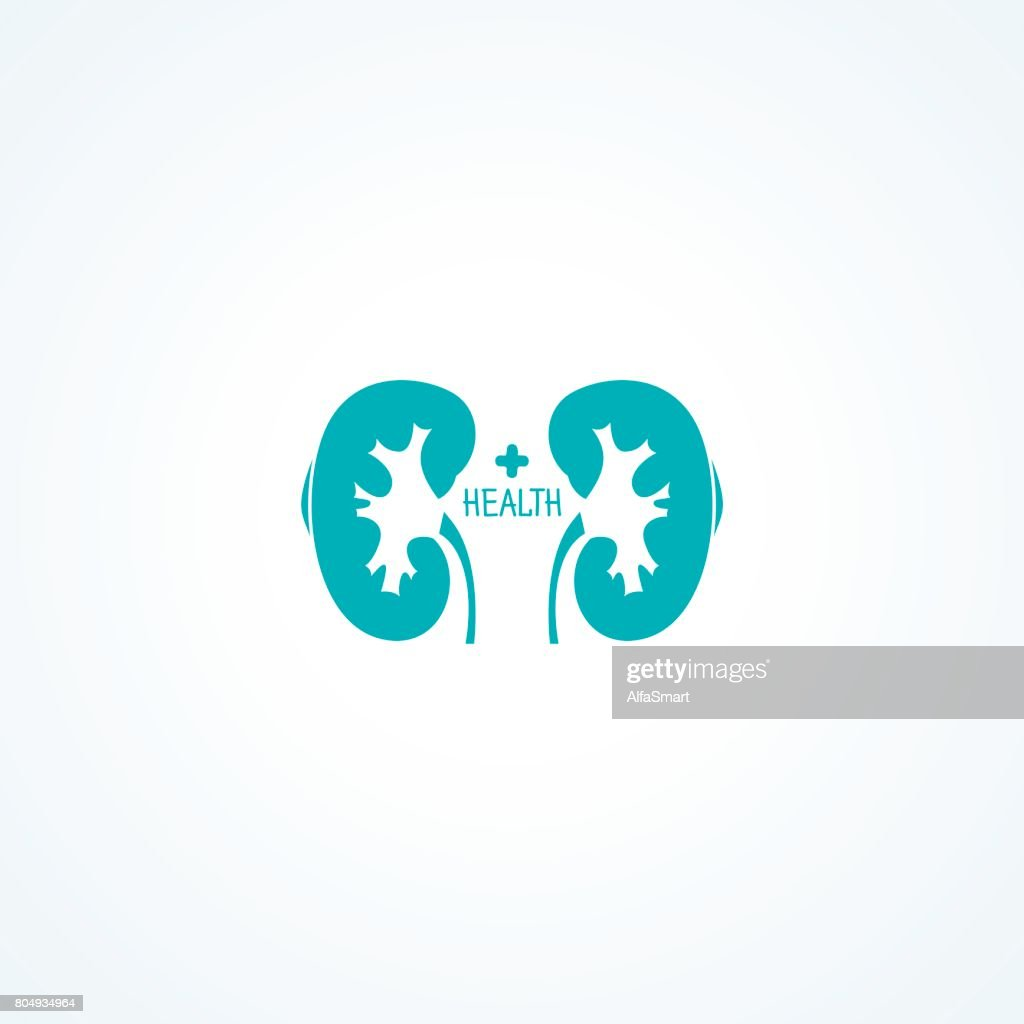 Human kidneys symbol