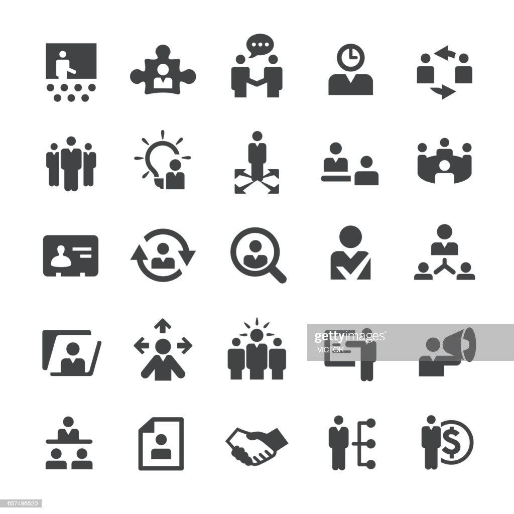 Human Resource Icons - Smart Series : stock illustration