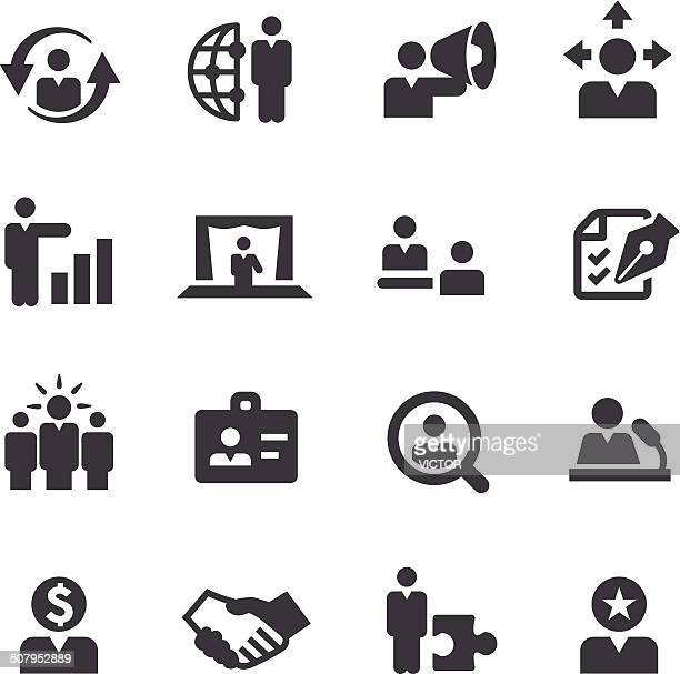human resources icons - acme series - paycheck stock illustrations, clip art, cartoons, & icons