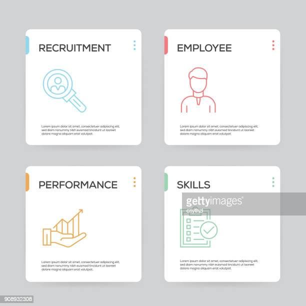 Human Resources Infographic Design Template