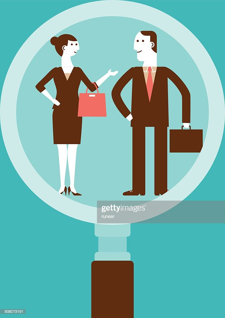 Human Resourcing | New Business Concept : stock illustration