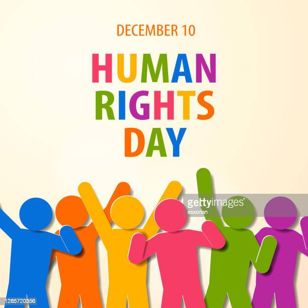 human rights day people struggling - human rights campaign stock illustrations