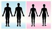 human silhouette