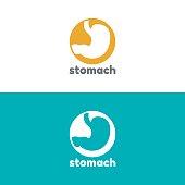 Human stomach icon