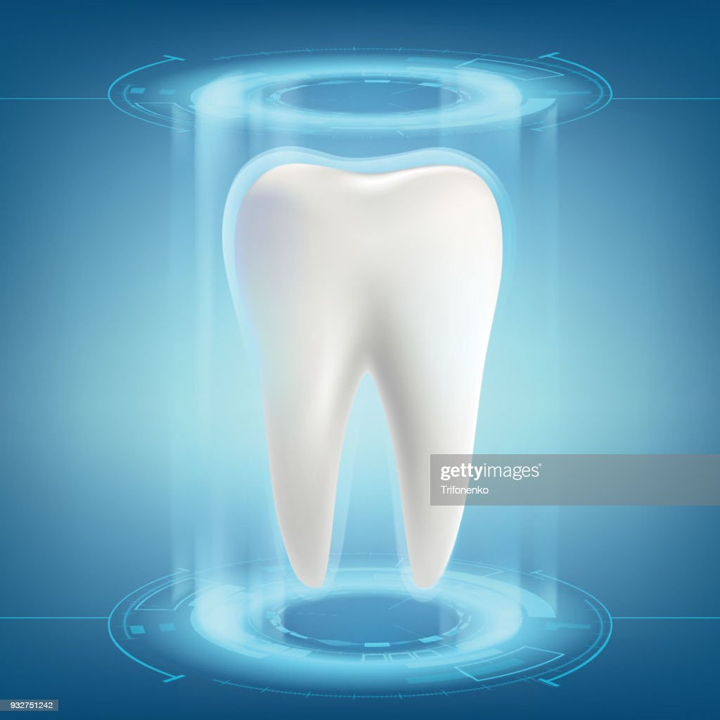 Human tooth. Dental implant.