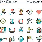 Humanitarian, peace, justice, human rights and more
