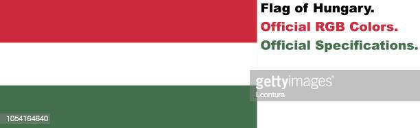 Hungarian Flag (Official RGB Colours, Official Specifications)