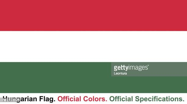 Hungarian Flag (Official Colors, Official Specifications)