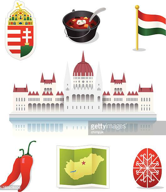 Hungary Icons