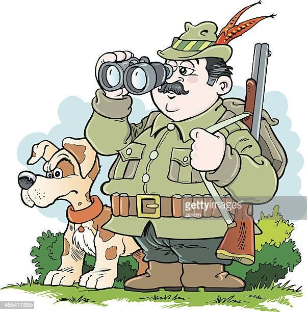 illustrations, cliparts, dessins animés et icônes de hunter - chasseur