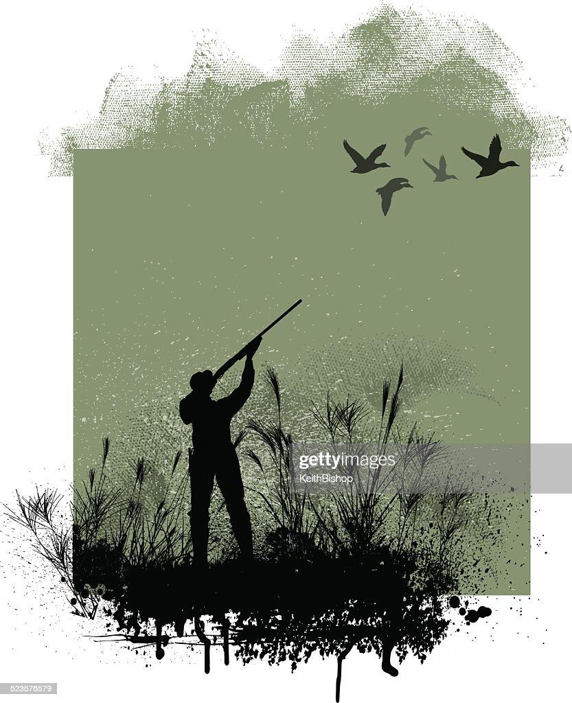 Hunting Background : stock illustration