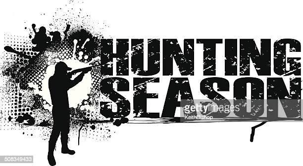ハンティングシーズンのグラフィック - ターゲット射撃点のイラスト素材/クリップアート素材/マンガ素材/アイコン素材