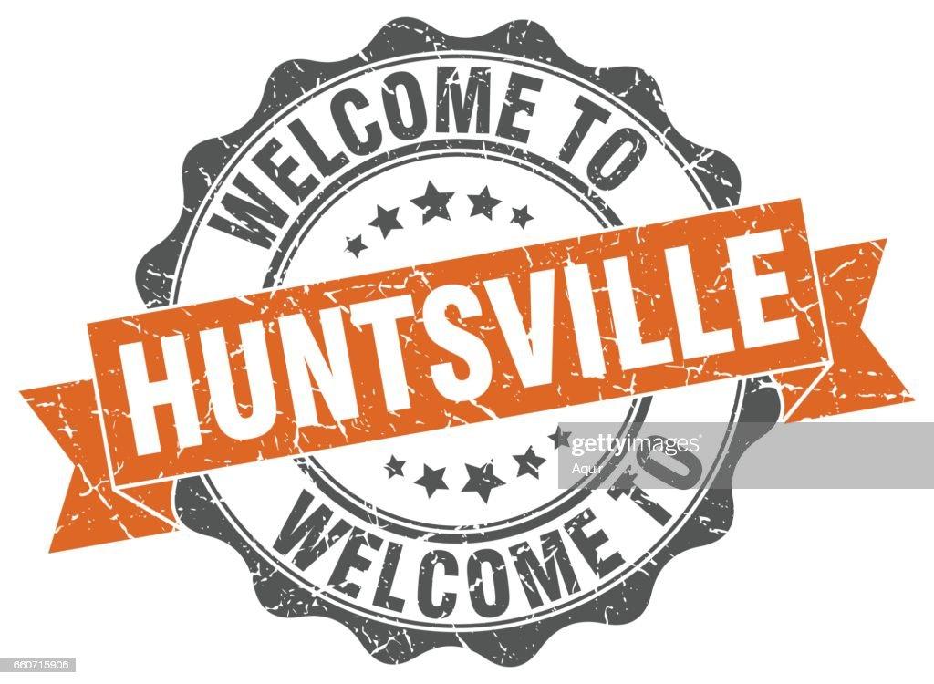Huntsville round ribbon seal