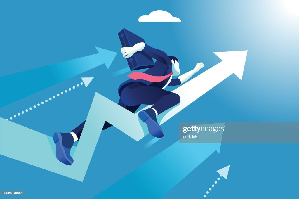 Hurry Up Concept Business Vector Illustration