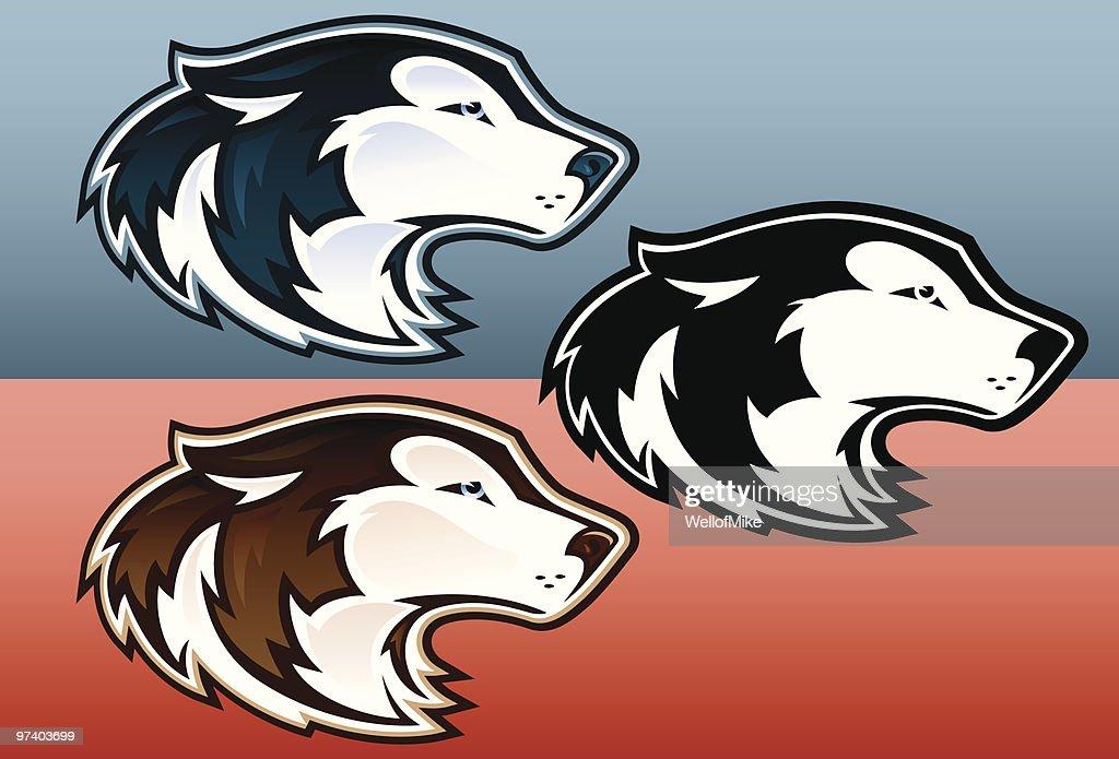 Husky Heads