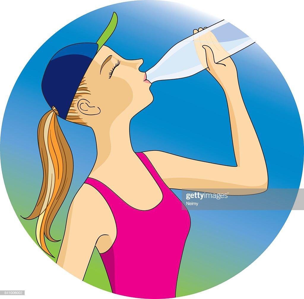 Hydrating while exercising