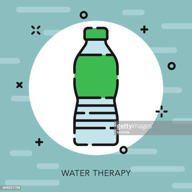 Hydrotherapy Open Outline Naturopathy Icon