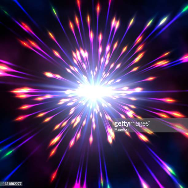 hyperspace abstract background - supernova stock illustrations